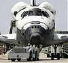 Space Shuttle - Rollout Discovery - front